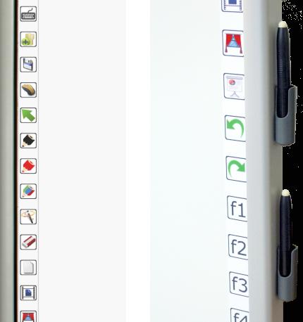 Emkotech e-103 kısayol tuşları ve özel kalemleri ile birlikte